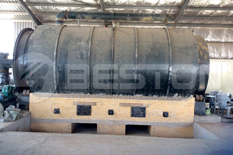 BLJ-16 Waste Tyre Pyrolysis Plant Installed in Jordan