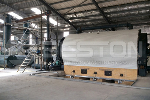 Pyrolysis Plant Installed in Jordan