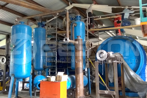 Beston Waste Tyre Pyrolysis Plant Installed in Hungary