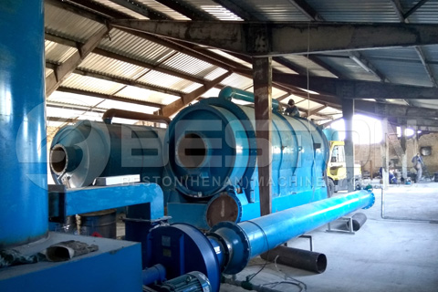 Pyrolysis Plant Installed in Hungary