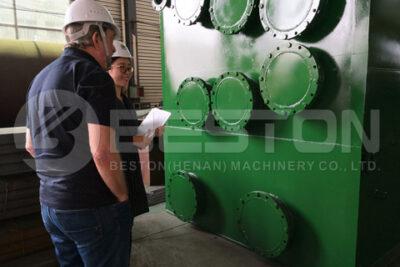 UK Customer Checked Beston Pyrolysis Machine
