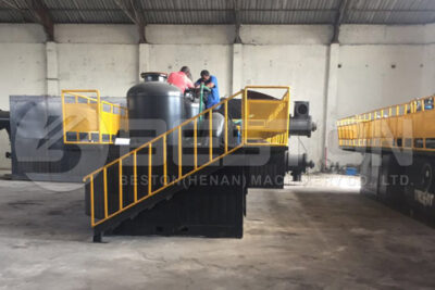 Beston Waste Pyrolysis Plant Installed in South Africa