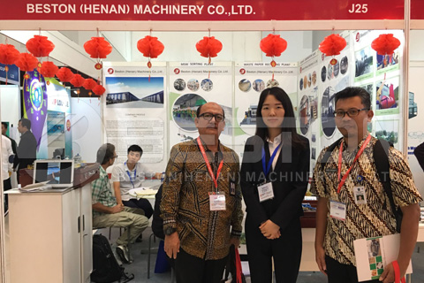 Beston Group in Indonesian Exhibition