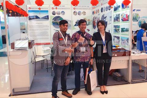 Beston في حدث إندونيسيا العاشر لتكنولوجيا النفايات والحلول
