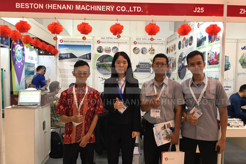 Beston in Indonesian Exhibition