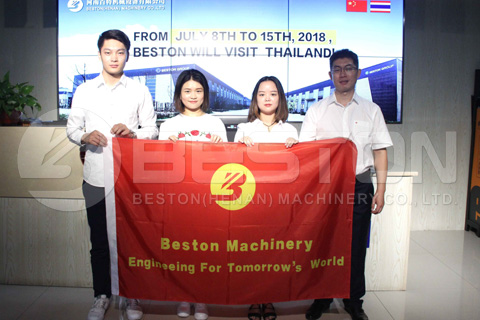 Beston Team for the Thailand Market
