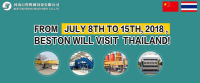 Beston Will Visit Thailand From July 8 to July 15 2018