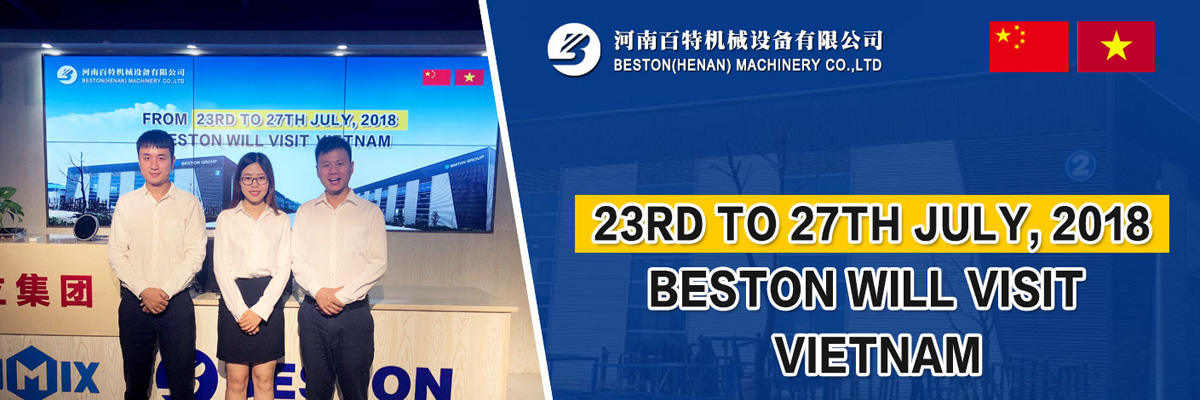 Beston Will Visit Vietnam from July 23 to July 27