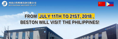 Beston Will Visit the Philippines from July 11 to July 21 2018