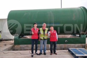 BLJ-16 Tyre Pyrolysis Plant Starts Assembling in the UK