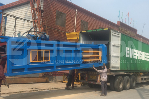 Beston Waste Sorting Machine Shipped Successfully to Hungary