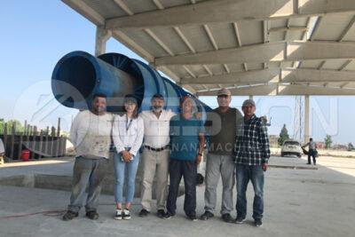 Beston Charcoal Making Machine Installed in Turkey
