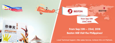 Beston Will Visit the Philippines Again from Sep.15 to Sep.23