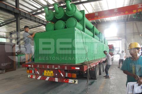 La máquina de pirólisis BLL-30 está lista para ser entregada a Rumania