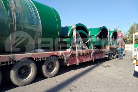 Beston BLJ-10 Pyrolysis Machine Shipped to Canada