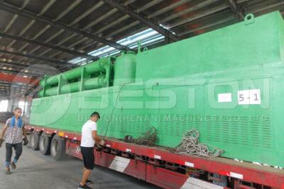 Beston BLL-30 Pyrolysis Machine Ready to Deliver to Romania
