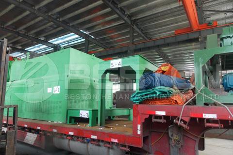 La máquina de pirólisis de Beston está lista para ser entregada en Rumania