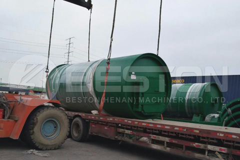 Beston Pyrolysis Plant to Canada