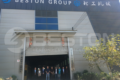 Customers from Malaysia Visited Beston Company