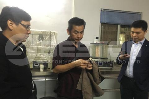 Malaysian Customers Visited Beston