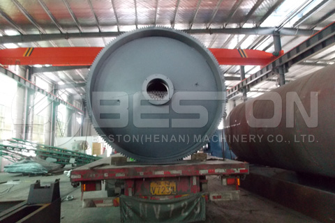 BLJ-10 Tyre Recycling Machine Shipped to South Africa