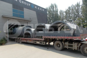 Beston BLJ-10 Tyre Recycling Machine Shipped to South Africa