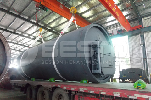 Beston Tyre Recycling Machine Shipped to South Africa