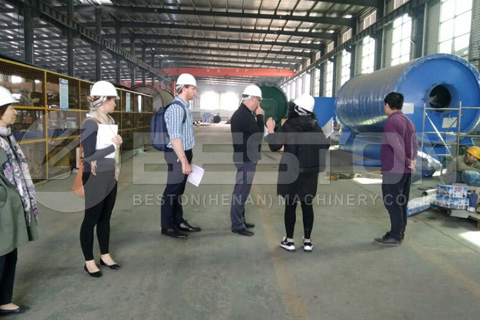 Customers from Australia Visited Beston