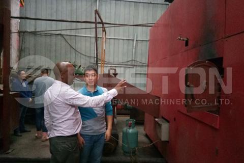 Kenya Customer Visited Beston