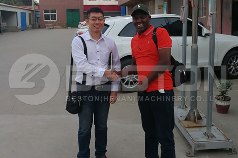 Kenya Customer and Beston Team