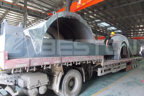 Tyre Recycling Machine Shipped to South Africa