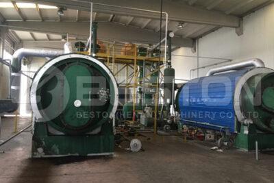 Beston Batch Pyrolysis Plants Installed in Turkey