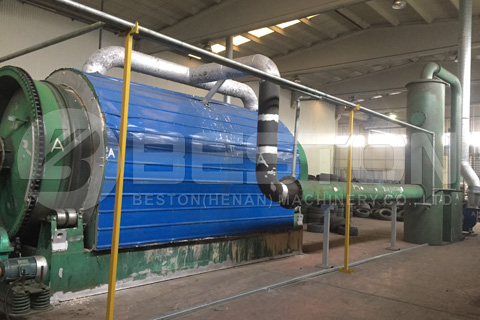 Beston Batch Pyrolysis Plants in Turkey