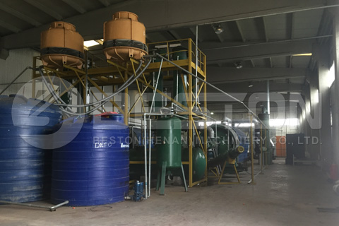 Pyrolysis Plants Installed in Turkey