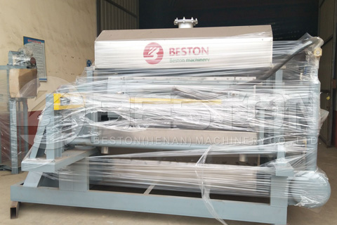 BTF 4-4 Egg Tray Machine Ready for India