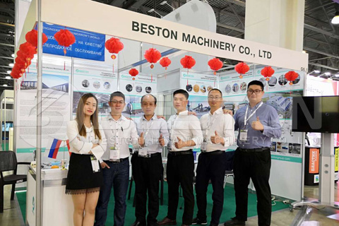 Beston Exhibition in Russia