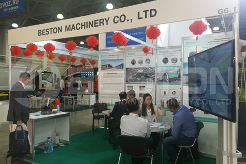 Beston in Russia Waste Tech Exhibition