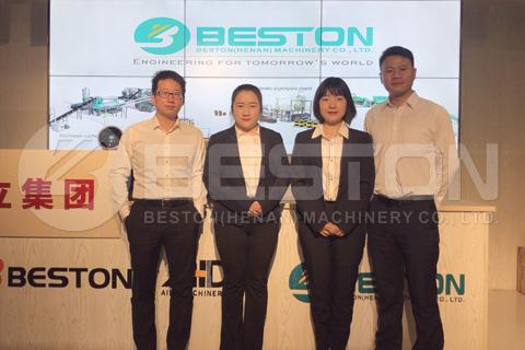 Beston Team to the Philippines