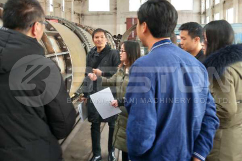 Thailand Customers Visited Beston Charcoal Machine