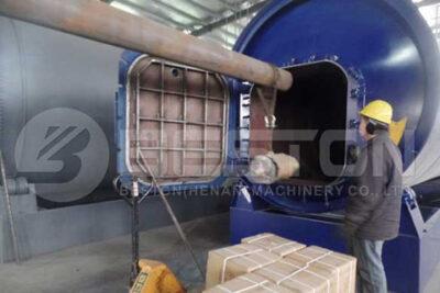 BLJ-10 pyrolysis machine in Uganda