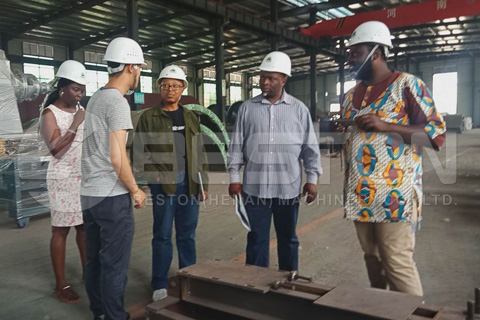 South African Customers Visited Beston