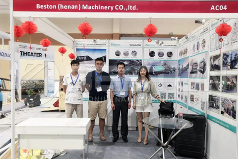Beston Team in Indo Water Expo and Forum