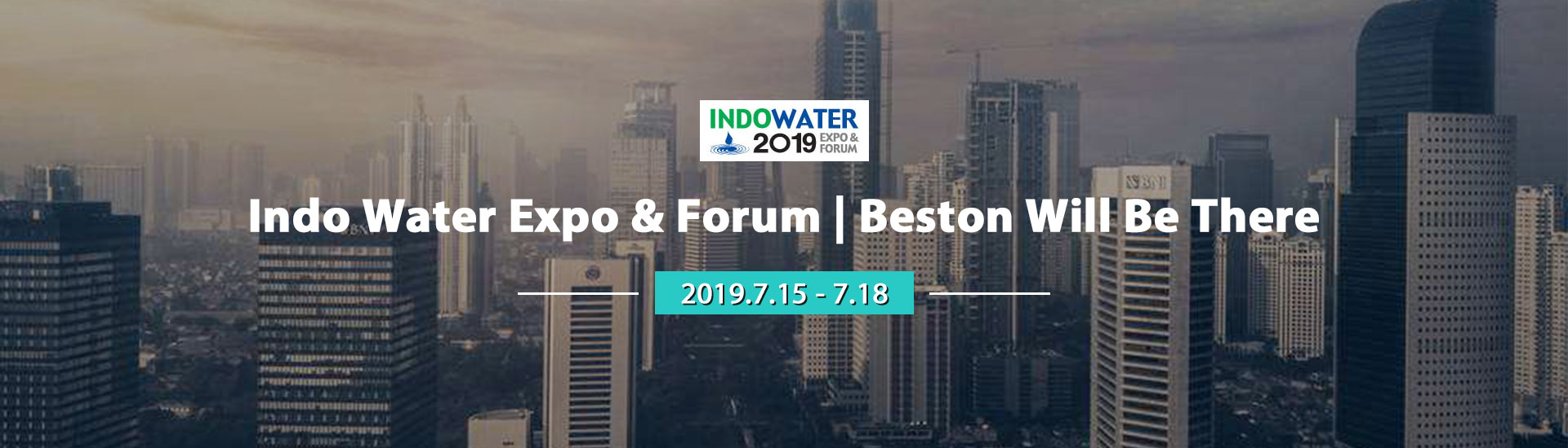 Meet Beston at Indo Water Expo and Forum