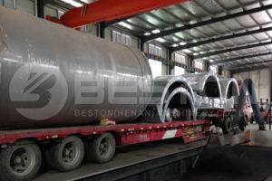 مصنع الانحلال الحراري BLJ-16 يتم شحنه إلى رومانيا