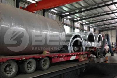 BLJ-16 Pyrolysis Plant Shipped to Romania