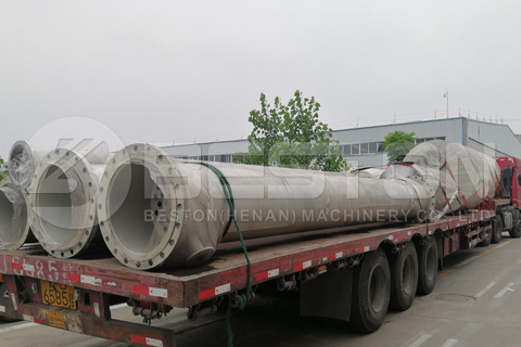 BZJ-10 Distillation Machine Shipped to Romania