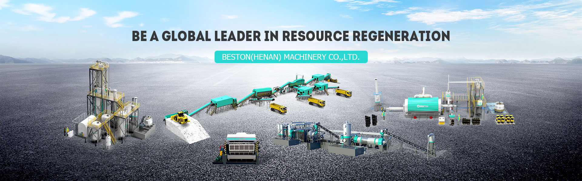 Beston Machinery banner