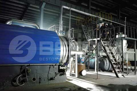 Tyre to Fuel Recycling Machine