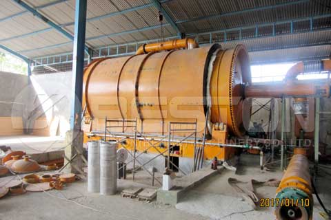 Waste Tire Pyrolysis Plants