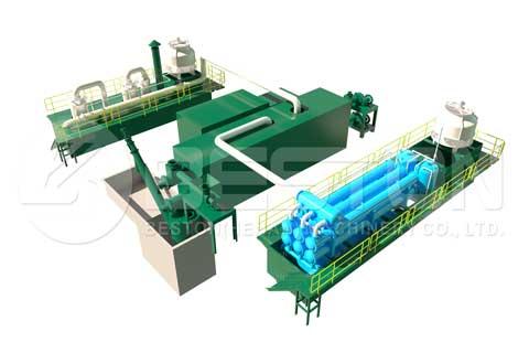 Continuous Pyrolysis Plant Design